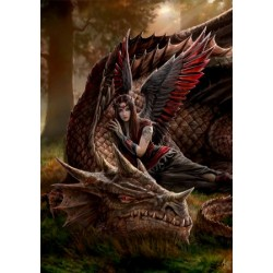 Anne Stokes Dragon Card 6 Pack - Winged Companions